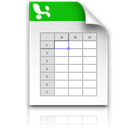 excel,file icon
