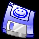 3floppy, unmount, disk icon
