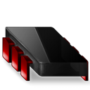 Black, Chip, Red icon