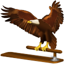 old, bird, animal, eagle, thunderbird icon