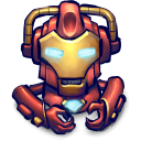 Comics Hero Red icon