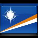 marshall, country, flag, island icon