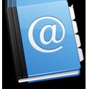 read, book, reading, address icon