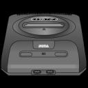 sega, genesis, gray icon
