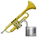 Trumpet, Unlock icon