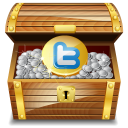 twitter treasure icon