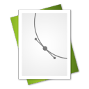 document, paper, vector, file icon