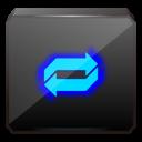 overlay, share icon