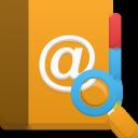 search, addressbook icon