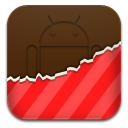 Android, Red, Themes icon