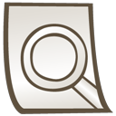 find, seek, result, search icon