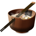 chinese, asian, oriental, chopsticks, breakfast, japanese, japan, dinner, bowl, food, china, soup, lunch, meal icon