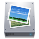 Hdd, Pictures icon