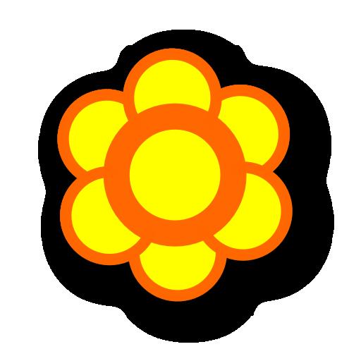 plant, flower icon