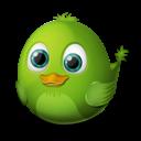 connecting, bird icon