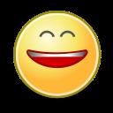 smile, face, big icon