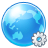 Browser, Earth, Settings, World icon