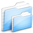ocean, ekisho, deep, folder icon