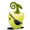 pirate, pepper icon
