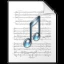paper, music, file, document icon
