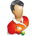 christmas, profile, account, user, human, people icon