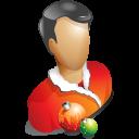 christmas, profile, account, user, human, people icon