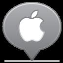 social balloon apple icon