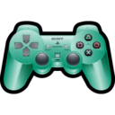 sony,playstation,green icon