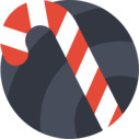 stick christmas icon