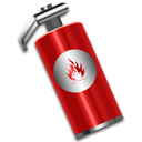 support, extinguisher, fire, help icon
