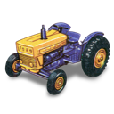 tractor, ford icon