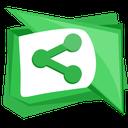 sharethis, web, social, media, widget icon