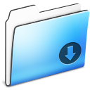 Drop, Folder, Smooth icon