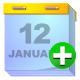 Add, Calendar icon