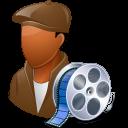 male, filmmaker icon
