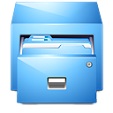 manager, drawer, file, paper, cabinet, filing, document icon