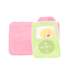 candy, ipod, folder, ak icon