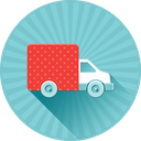 shipping, delivery, ecommerce, moving, car, truck, transport icon