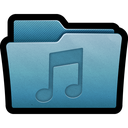 sound, folder, audio, mp3, mac, multimedia, music icon