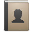 x office address book icon