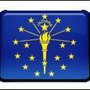 Indiana Flag icon