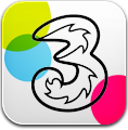 Colored, Three icon