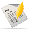 blog, article, title icon