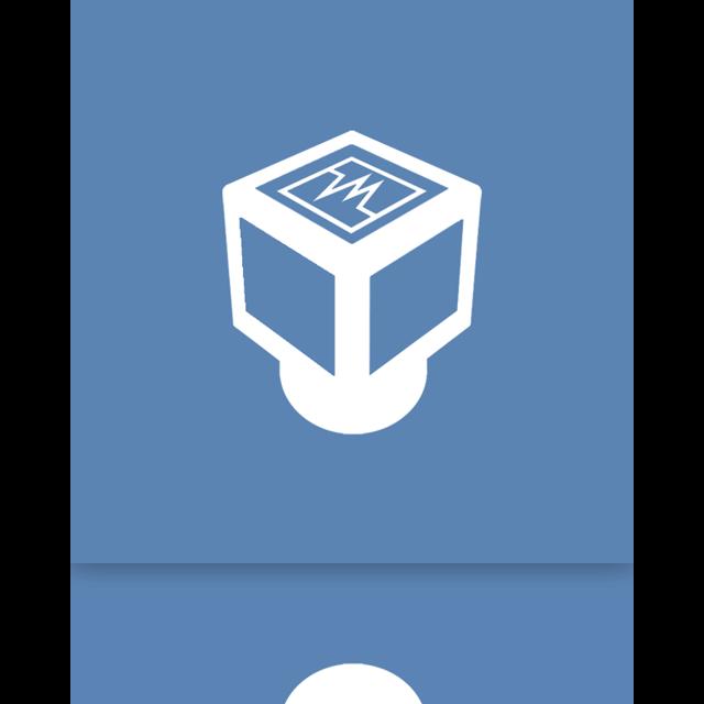 mirror, virtualbox icon