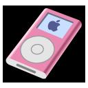 pink, ipod, mini icon