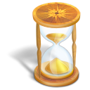 wait, hourglass icon