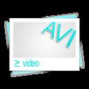 avi,file,video icon