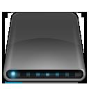 external, modem, disk, drive icon