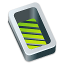 green, open, box icon