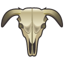 cattle,scull icon